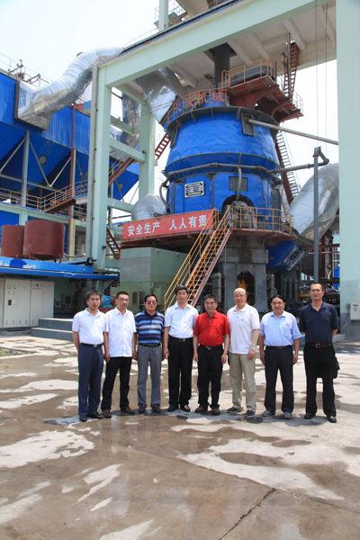 中国工程院院士徐德龙一行莅临公司考察指导工作