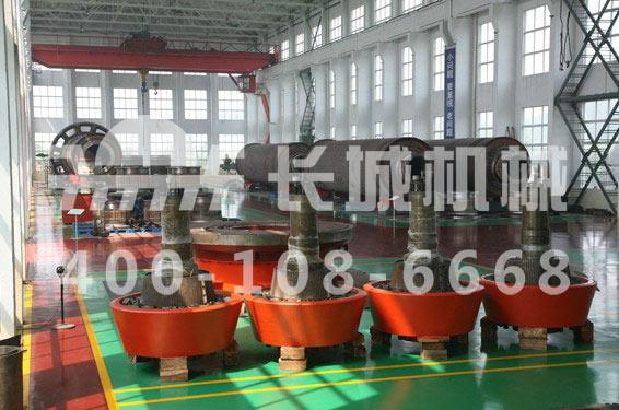 长城机械GRMS46.41矿渣立磨机磨辊的作用及保养方式