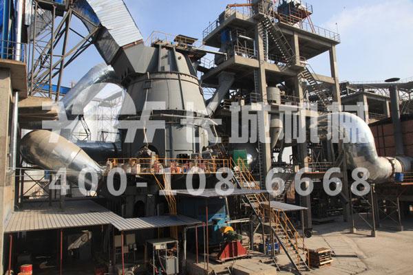 长城机械矿粉生产线 矿渣立磨非凡魅力