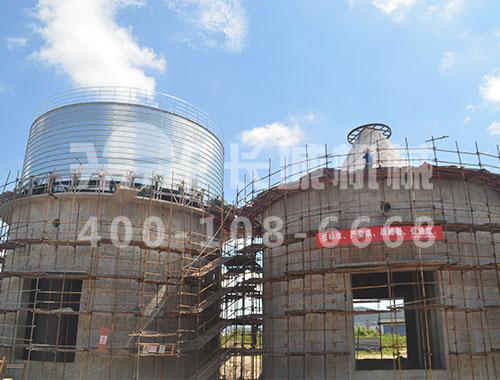 上海宝钢150万吨复合粉生产线工程进展图大公开