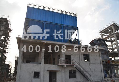 上海宝钢年产150万吨复合粉生产线工程最新进度图
