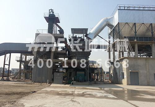 长城机械GRMS33.21矿渣/复合粉立磨机新品成功投产