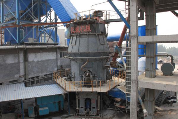 新乡辉县年产30万吨矿渣微粉生产线