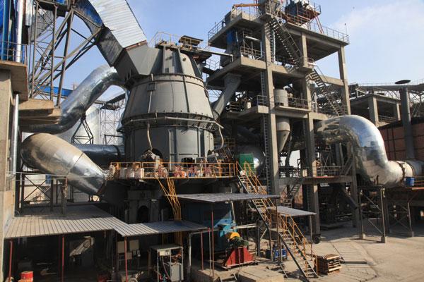 河南孟电集团年产100万吨矿渣微粉生产线