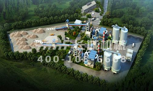 河北邯郸水泥厂年产65万吨矿粉生产线