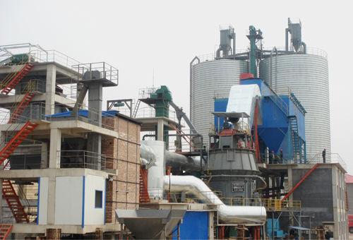 年产30万吨矿渣立磨机