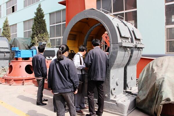 上海宝钢与新乡长城机械签订年产150万吨矿渣钢渣微粉总包合同