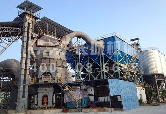 长城机械立式磨粉机将在水泥粉磨领域一展风采