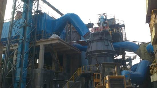 长城机械2015九月份矿渣微粉线项目进展